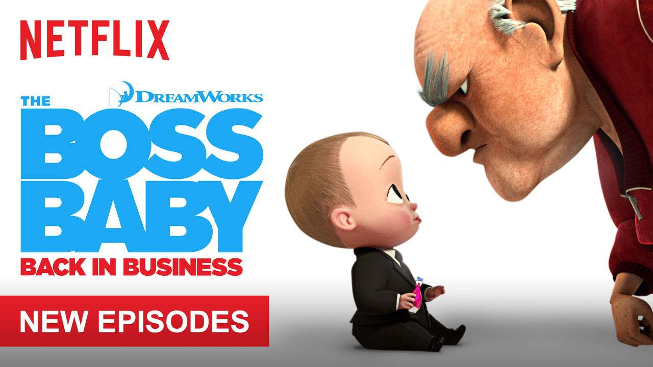 The Boss Baby: Back in Business on Netflix USA