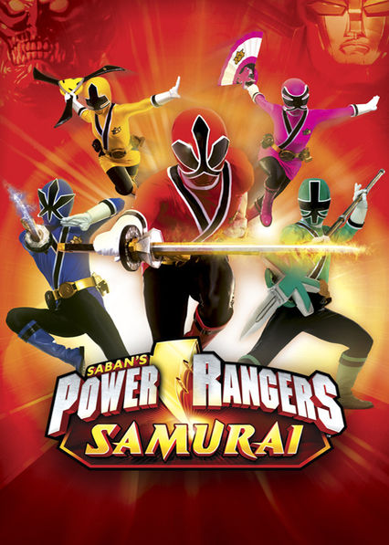 Power Rangers Samurai on Netflix USA