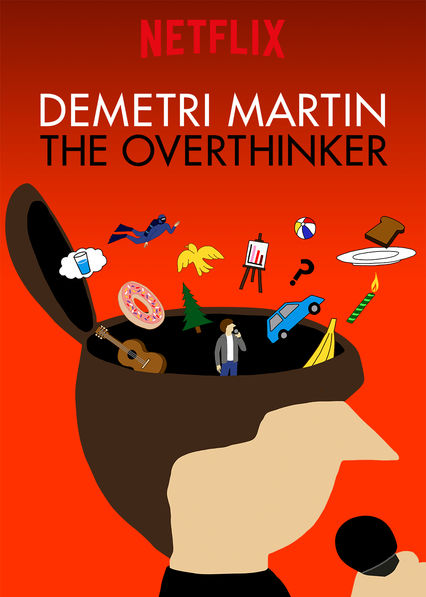 Demetri Martin: The Overthinker on Netflix USA