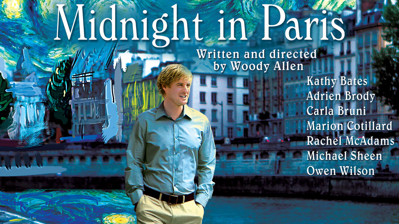 is midnight in paris available to watch on netflix in america
