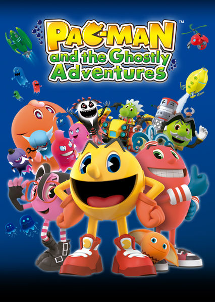Pac-Man and the Ghostly Adventures on Netflix USA