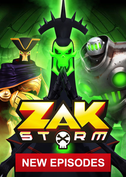 Zak Storm on Netflix USA