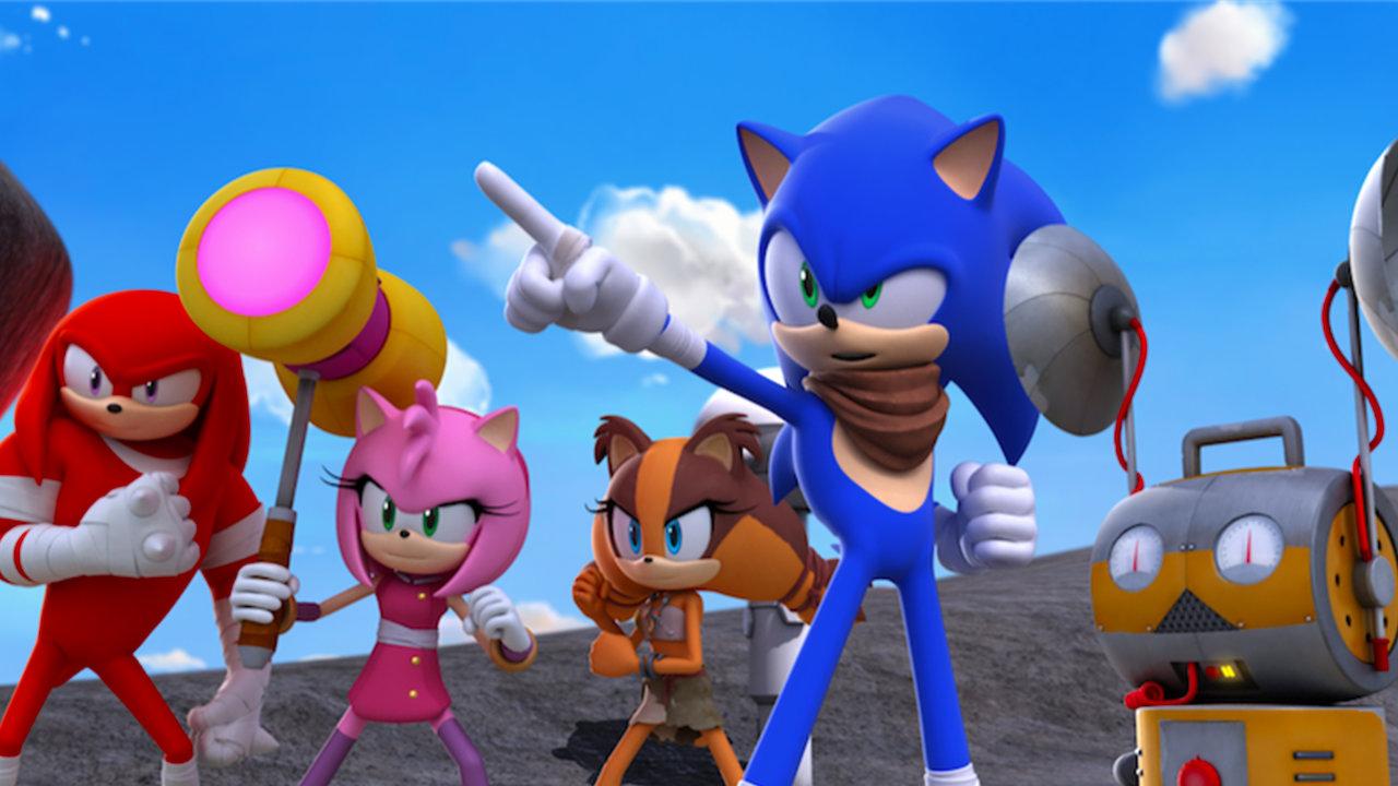 Amy Off Of Sonic sonic boom | netflix